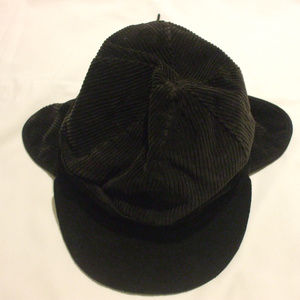 Other - Children's  Charcoal Grey Corduroy Hat